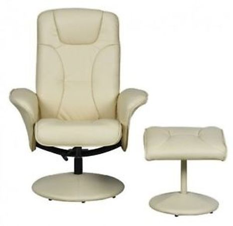 Turin Swivel Recliner Chair Reclining Armchair