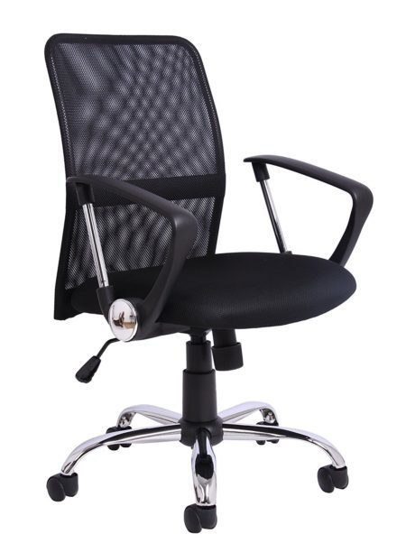 Office Essentials Mesh Height Adjustable Chair with Torsion Control