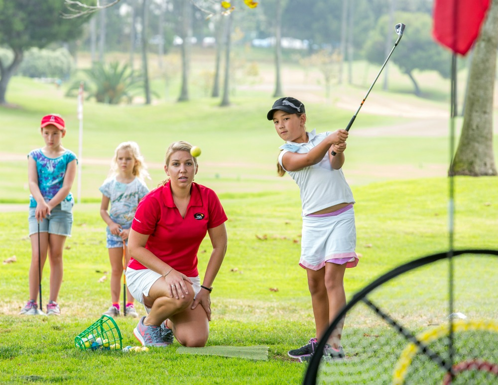 Youth Being Taught More Than Golf: TGA teaches kids the golf swing, the game of golf and life skills
